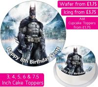 Batman Personalised Cake Topper