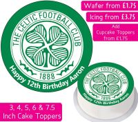Celtic Football Personalised Cake Topper