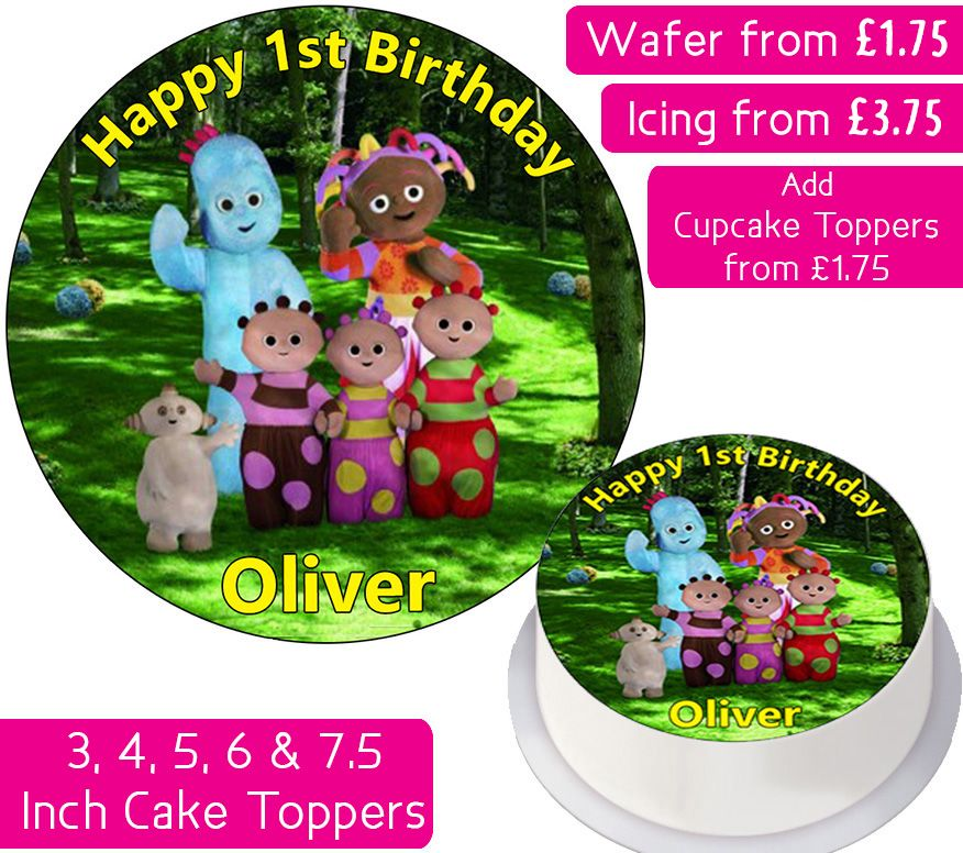 In The Night Garden Personalised Cake Topper