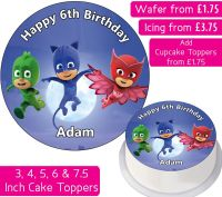 PJ Masks Personalised Cake Topper