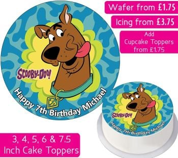 Scooby Doo Personalised Cake Topper