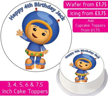 Team Umizoomi Geo Personalised Cake Topper