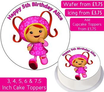 Team Umizoomi Milli Personalised Cake Topper