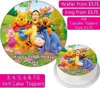 Winnie The Pooh Personalised Cake Topper