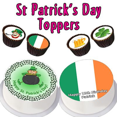 St Patrick's Day Toppers