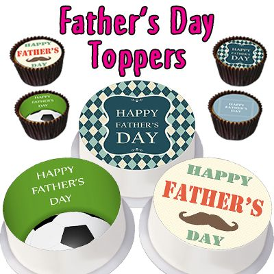 Father's Day Toppers