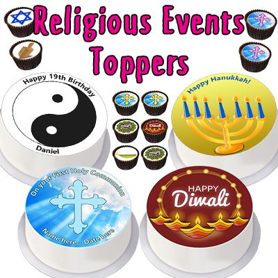 Religious Events Toppers