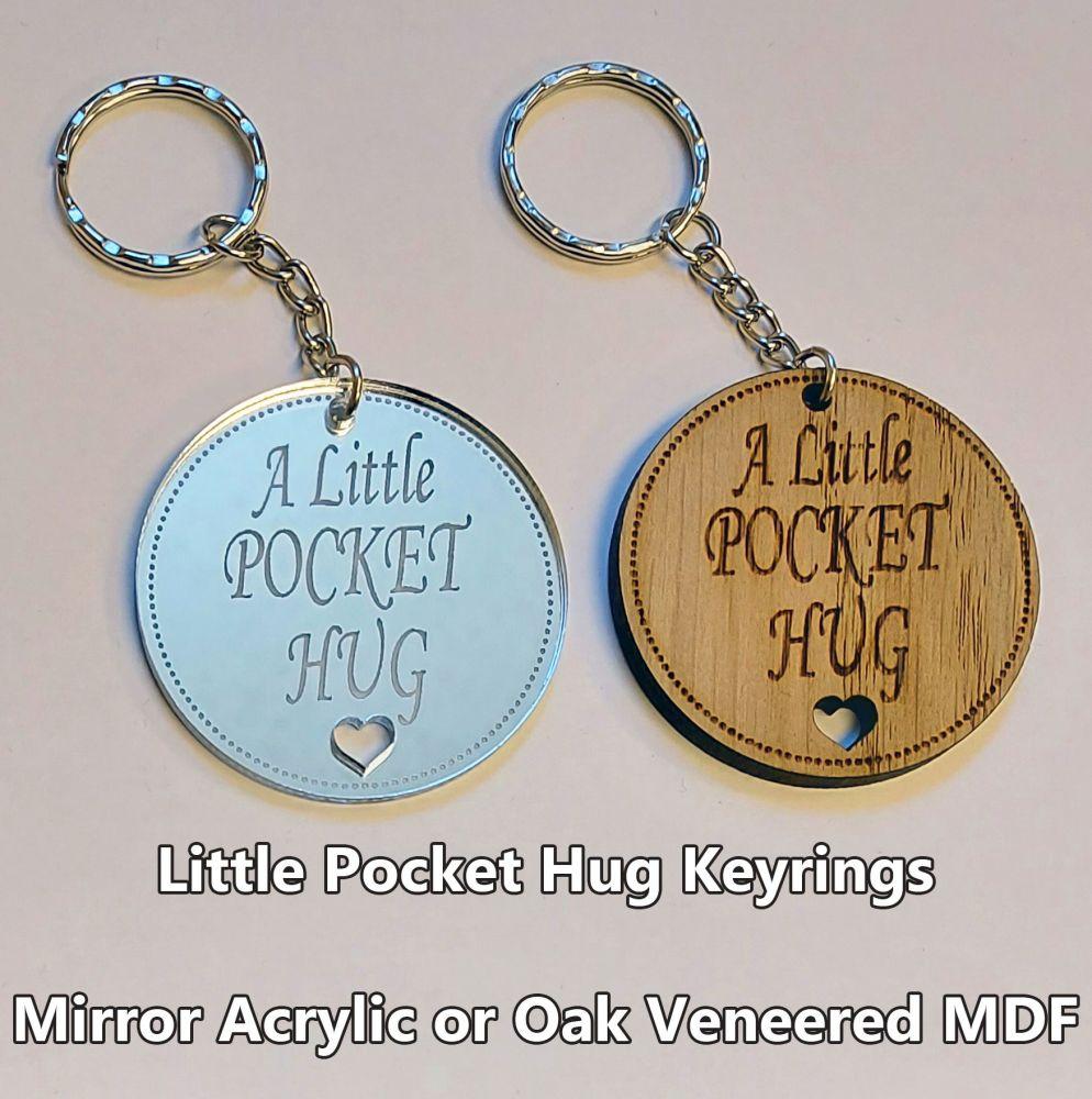 Little Pocket Hug, 1 x Keyring