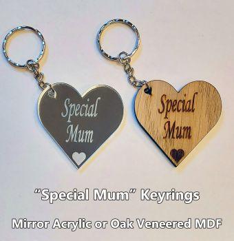 Special Mum, 1 x Keyring