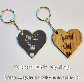Special Dad, 1 x Keyring