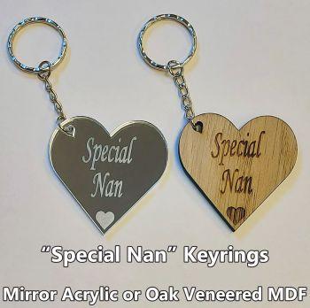 Special Nan, 1 x Keyring