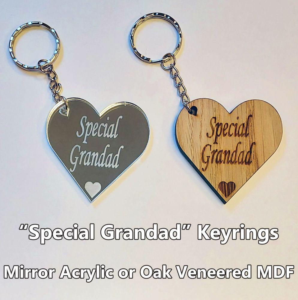 Special Grandad, 1 x Keyring