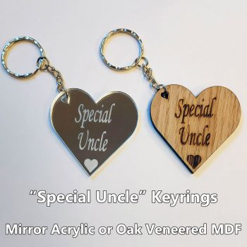 Special Uncle, 1 x Keyring