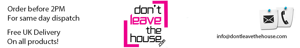 dontleavethehouse.com, site logo.
