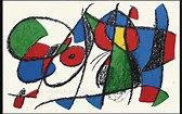 Joan Miro Lithographies. New York, Tudor Publishing, 1972.