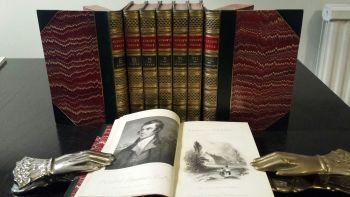 The Works of Robert Burns with his Life, 1834.