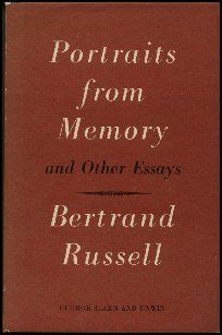 Portraits From Memory And Other Essays, 1956.