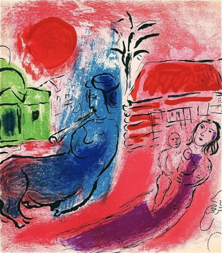 Marc Chagall: His Graphic Work, 1957.