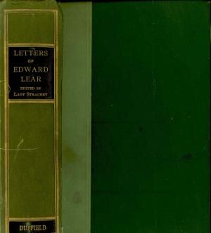 Letters of Edward Lear, 1907.