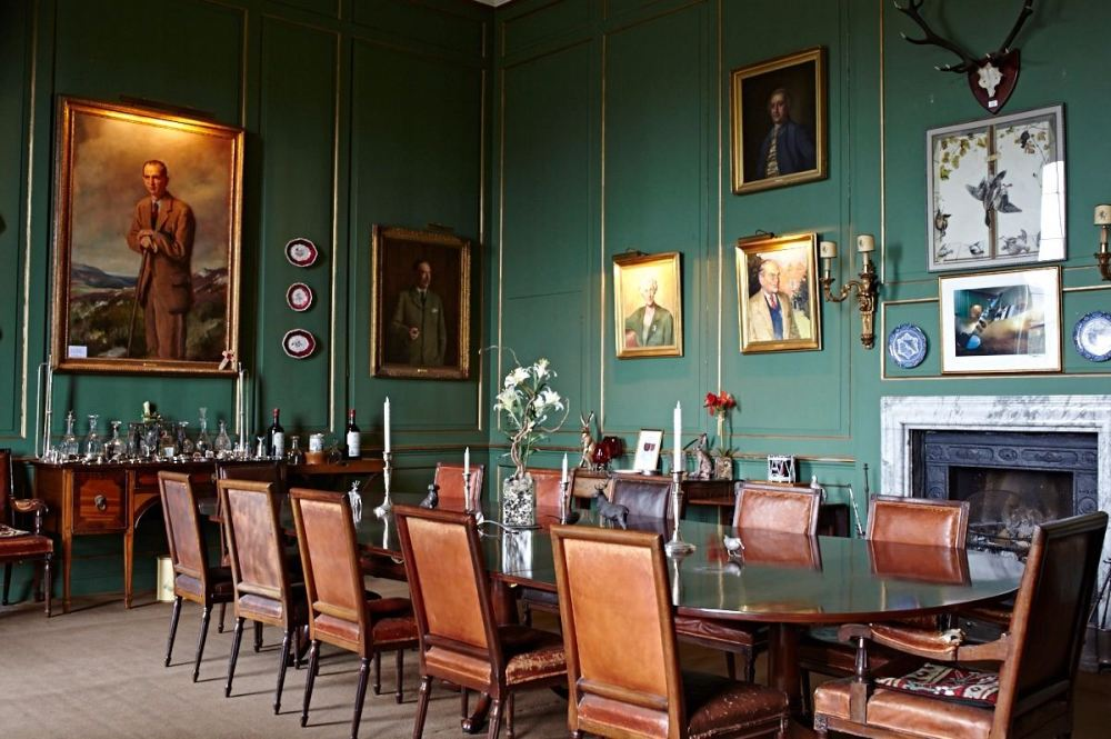 glemham hall dining room