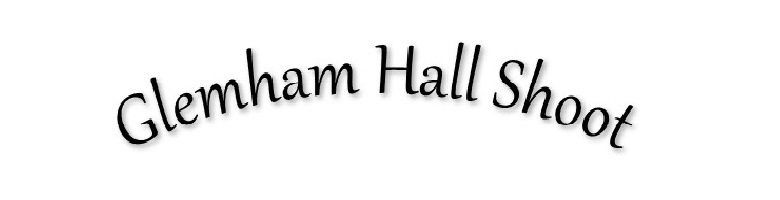 Glemham Hall Shoot Suffolk, site logo.