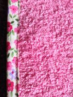 turbie pink with lilac pink flower edge close up2