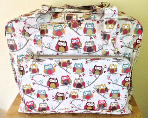SEWING MACHINE CARRY BAG 'Hoot' Design