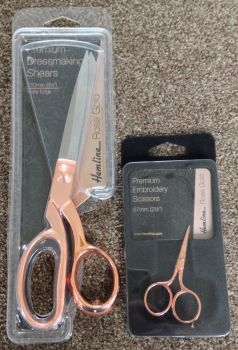 ROSE GOLD SCISSORS X 2