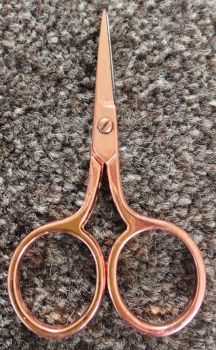 ROSE GOLD EMBROIDERY SCISSORS WITHOUT PACKET