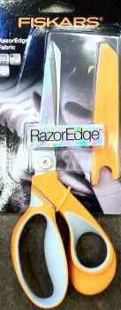 FISKARS SCISSORS RAZOR EDGE SOFT GRIP 23cm