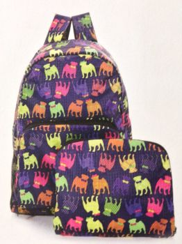 RUCKSACK PURPLE PUGS BROCHURE