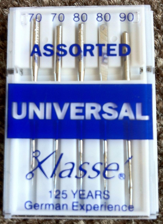 KLASSE SEWING MACHINE NEEDLES - UNIVERSAL ASSORTED
