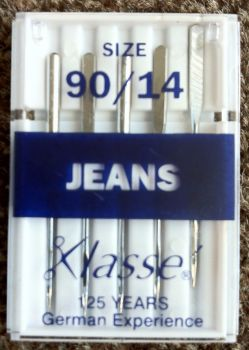 KLASSE SEWING MACHINE NEEDLES - JEANS 90/14