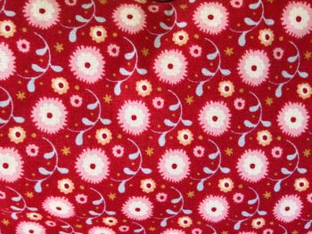 RED FLORAL ORIGINAL BAG CLOSE UP