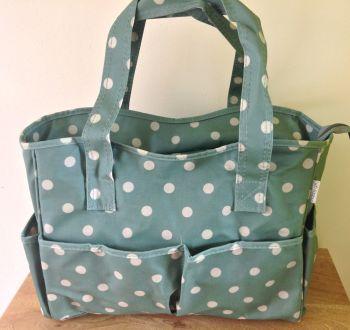 moss green craft bag