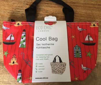 COOL BAG SEASHORE RED