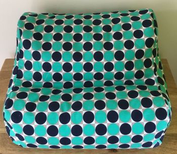 ipad beanbag green spot empty