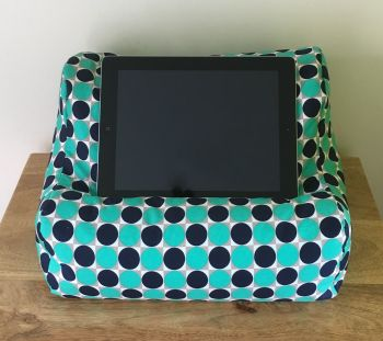 ipad beanbag green spot