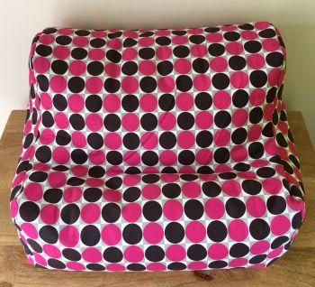 ipad beanbag pink spot empty