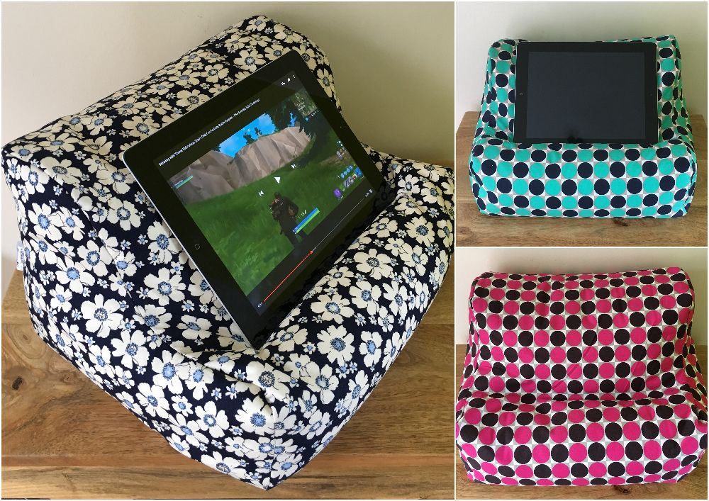 BEANBAG LAP CUSHIONS FOR IPAD, KINDLE & TABLETS