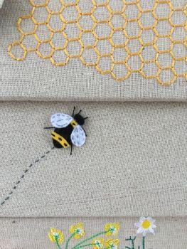 beehive basket close up