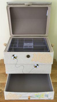 beehive basket drawer open