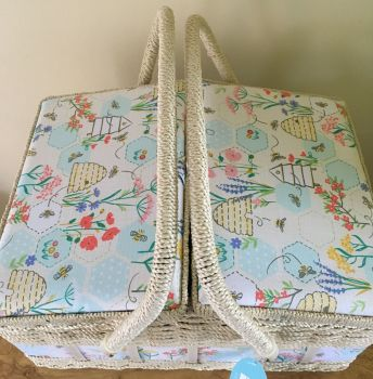 SEWING BEE TWIN LID TOP