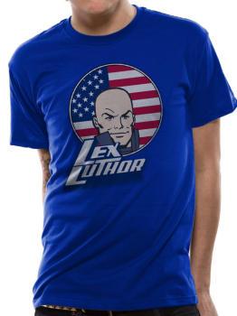 Size 20/22 XXL. Lex Luther Tshirt, Crew Cut
