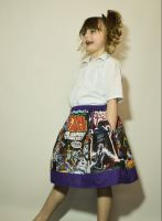Layer Cake skirt, ft. Star Wars