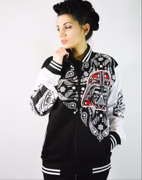 Sugar Skull Star Wars Varsity Jacket