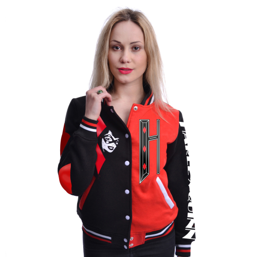 DC Comics Harley Quinn Varsity Jacket