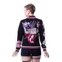 Suicide Squade Femme Fatale Ladies Varsity Jacket