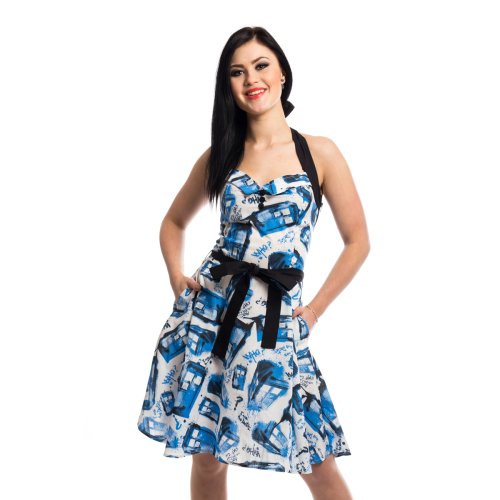 Doctor Who Tardis Dress - White