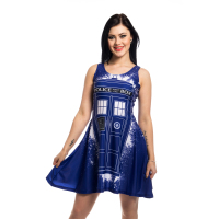 Doctor Who Tardis Dress - Blue